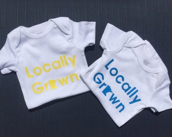 Locally Grown MN Onesie