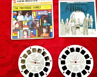 Viewmaster packet No. B 569 Partridge Family from 1971