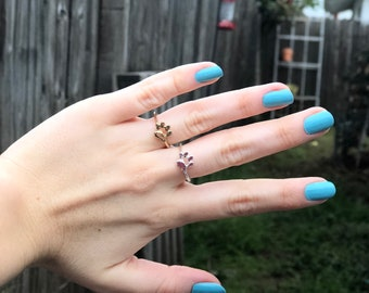 Cat paw ring