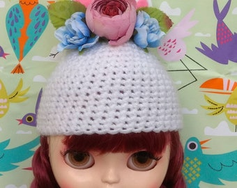 Unicorn hat for Blythe/icy