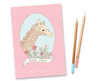 SALE Animal World Colouring Book vol. 2 - 75% off