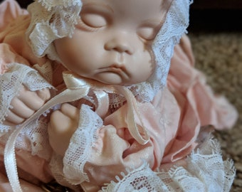 Baby Dara Musical Dynasty Doll Collection Vintage Porcelain Doll