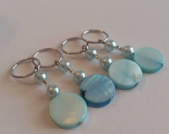 Make Your Mark stitch markers for Knitting and Crochet, Handmade