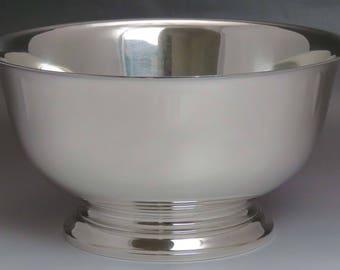 Nice 1956 Gorham Sterling Silver Medium Punch Bowl