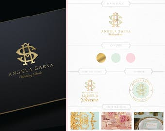 Unique Custom Monogram,Photography Logo,Realtor Logo,Blog Logo Branding Logo,Premade Logo,Makeup Artist Logo, Wedding Events,Luxury Interior