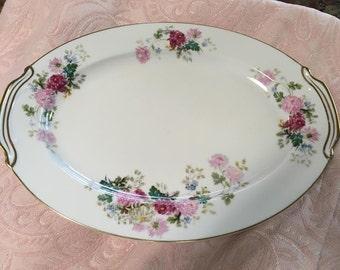 """Noritake China """"Gardena"""" Serving Platter"""