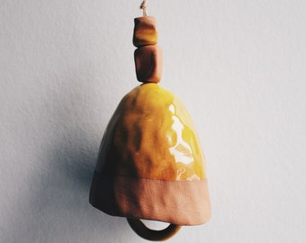 Ceramic jingle bell