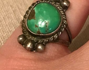 Very very old turquoise ring