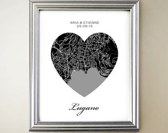 Lugano Heart Map
