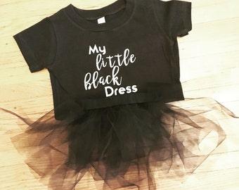 Little Black Dress Onesie and Tutu