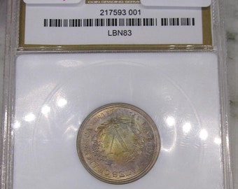 1883 No Cents Liberty Nickel Certified MS64 & Toned!