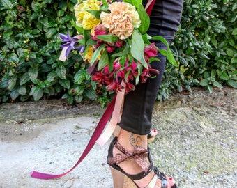 Cork wedge sandal-Sandals-Handmade in Italy