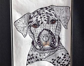 DOODLE-ART DOG