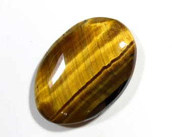 On Sale 40% Off, Amazing Quality Natural Tiger Eye Gemstone,Smooth Polished Oval Cabochon,11.50 Carat,21X15X3 MM Size Approx,Code:AG0142