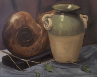 Oil painting- still life