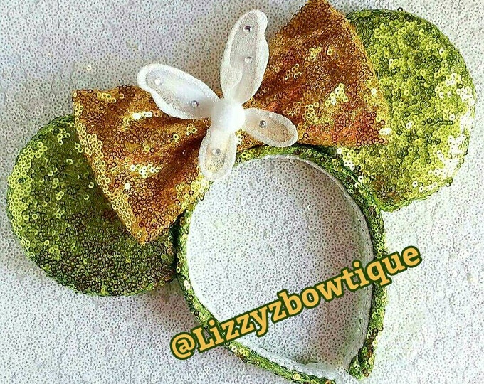 Tinker Bell Sequin Minnie ears