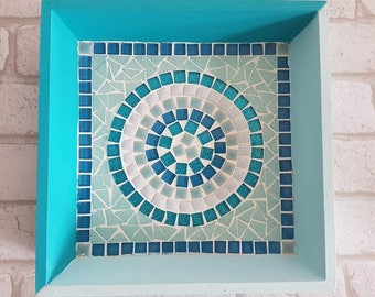 Mosaic turquoise trendy Oddments