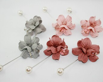 Felt Flower Pin, Felt Flower brooch, Handmade Felt Flower