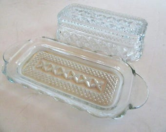 Wexford butter dish with top fantastic condition