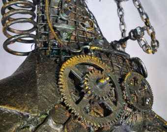"Steampunk Horse For Sale ""Rusty"""