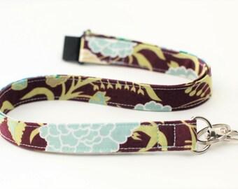 Lanyard -  Fabric Lanyard - Breakaway Lanyard Option,  ID Badge Lanyard, Key Lanyard, ID Holder, Women's Neck Lanyard, Fashion Lanyard