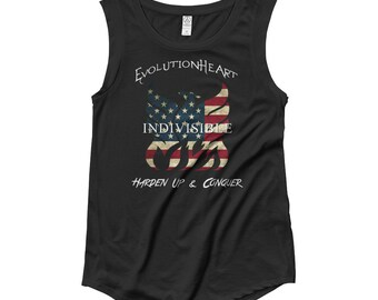 Indivisible Ladies' Cap Sleeve T-Shirt