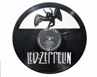Led Zeppelin Vinyl Record Art