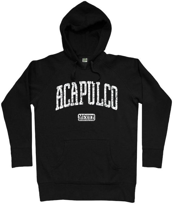 Acapulco Hoodie - Men S M L XL 2x 3x - Acapulco Mexico Hoody Sweatshirt - 2 Colors 6KVCc