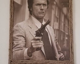 Make My Day Canvas: Clint Eastwood Dirty Harry