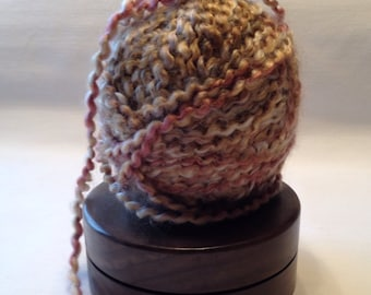 Walnut Yarn Holder Lazy Susan