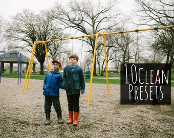 10 Clean Presets - Lightroom Presets