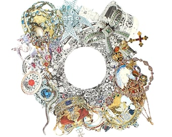 Collage Art Jewellery