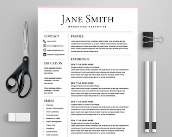 template for cv microsoft word