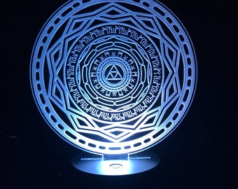 Legend of Zelda Mirror of Twilight edgelit acrylic sign