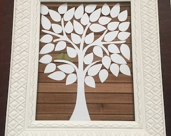 Wedding Guest Book Tree Frame