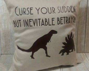 Curse Your Sudden but Inevitable Betrayal Firefly (Small) Pillow