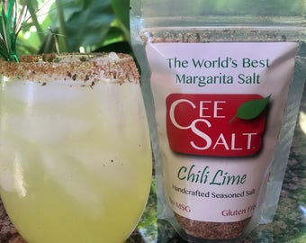 Cee Salt  Chili Lime - The World's Best Handcrafted Margarita Salt