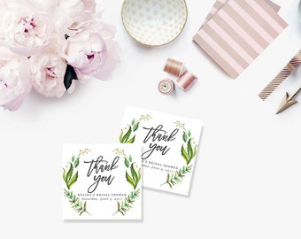 Printable Bridal Shower Gift Tags / Customized Favor Tags, Thank You Tags  - Melina