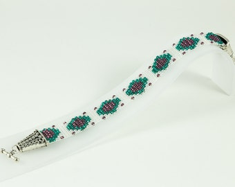 Loomed Jewel Bracelet
