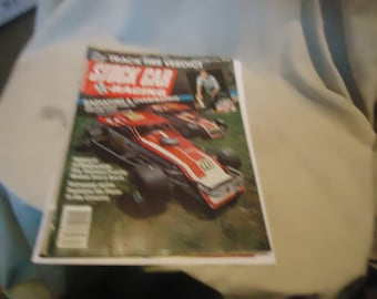 Vintage September 1984 Stock Car Racing Magazine, collectable