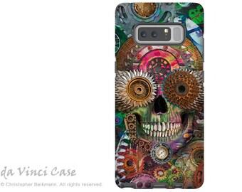 Steampunk Skull Galaxy Note 8 Case - Cogglers Skull Art Case for Samsung Galaxy Note 8 - Steampunk Mechaniskull - Premium Dual Layer Case