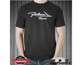 Ford Falcon Sprint Custom Screen Printed Hot Rod Muscle Classic Car T-Shirt