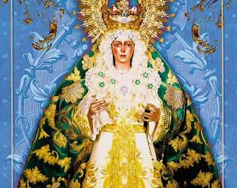 Poster Macarena Sevilla - blank