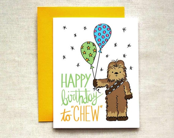 Enterprising image for star wars printable birthday cards