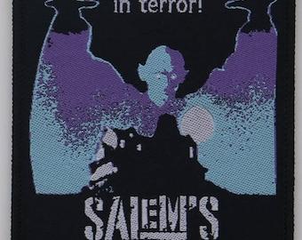 Salem's Lot WOVEN PATCH - HORROR movie - Stephen King, Barlow, 80s, vampire