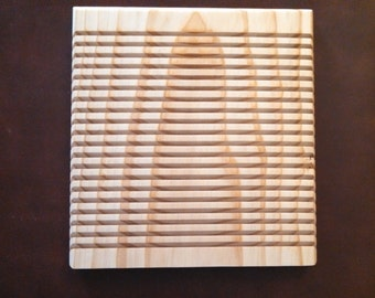 20 Slot Quilters Wall Mounted Ruler Rack