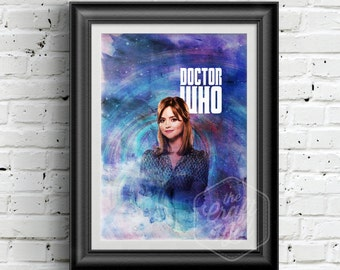 0148 Dr Who Clara Oswald A3 Wall Art Print Multiple Sizes