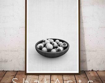 Eyes Poster, Eyes Wall Art, Eyes print, Food Print, Zombie Eye Print, Nursery Halloween, Eye Halloween, Halloween Digital, Zombie Eyes