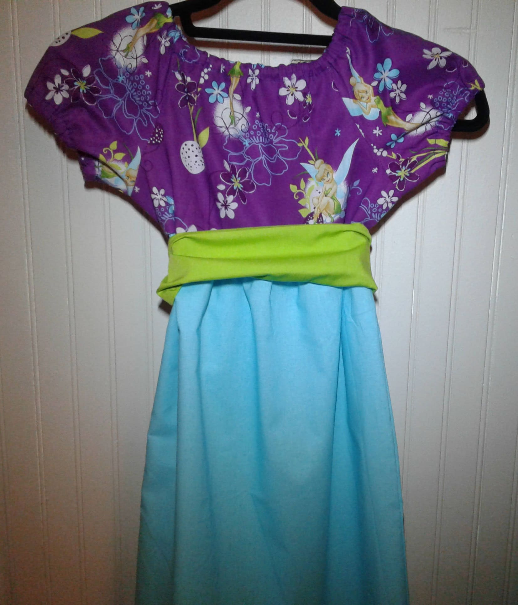 Tinkerbell dress Tinkerbell costume Tinkerbell dress Size 5/6