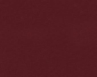 Brick Kona Cotton, Red Fabric, Robert Kaufman Fabrics, Half Yard
